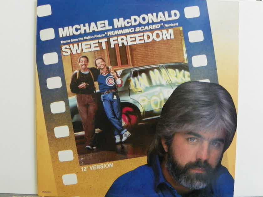 MICHAEL McDONALD - SWEET FREEDOM 12' VERSION NM