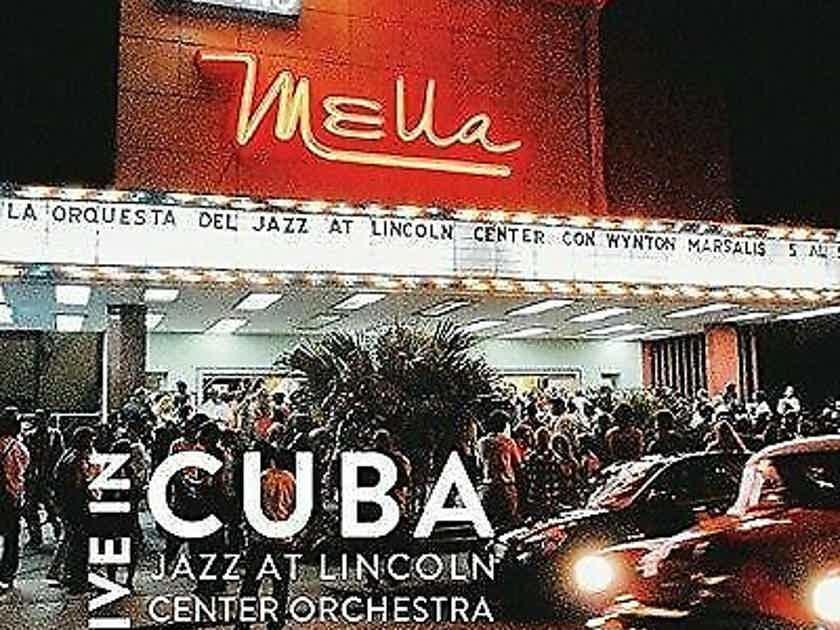 Jazz At Lincoln Center, Wynton Marsalis Live in Cuba 4 LPs
