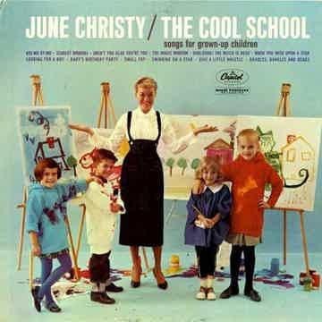 Jne Christy The Cool School vinyl LP