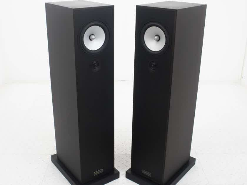 Trenner & Friedl Dizzy Floorstanding Speakers; Walnut Mocca Pair (18742)