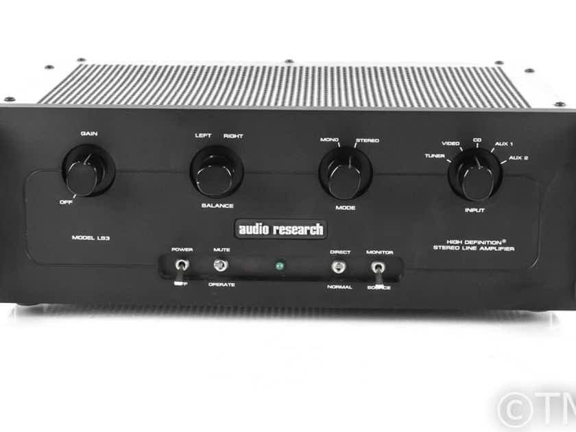 Audio Research LS3 Stereo Preamplifier; LS-3 (21765)