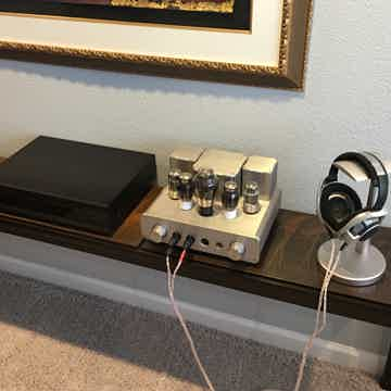 Woo Audio WA22 Tube Headphone Amp,  Sennheiser HD800 Headphones,