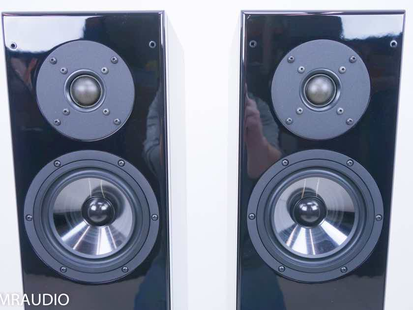 Vienna Mozart Grand Floorstanding Speakers; Piano Black Pair (11701)