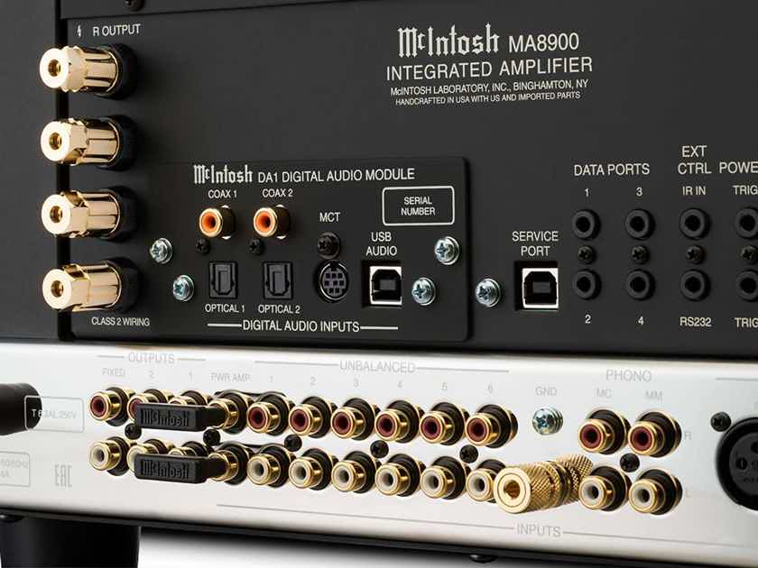 MINT McIntosh MA8900 2-Channel Integrated Amplifier 200 Watts x 2 channel