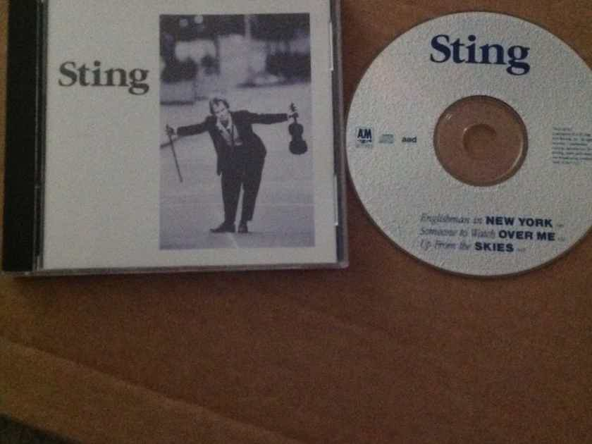 Sting - Englishman In New York/Someone To Watch Over Me A & M Records Rare 3 Track CD Up From The Skies Hendrix