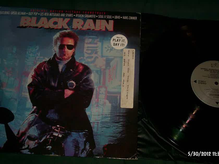 Soundtrack - Black Rain Michael Douglas Film Vinyl LP NM