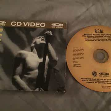 R.E.M. CD Video Disc Music From Tourfilm