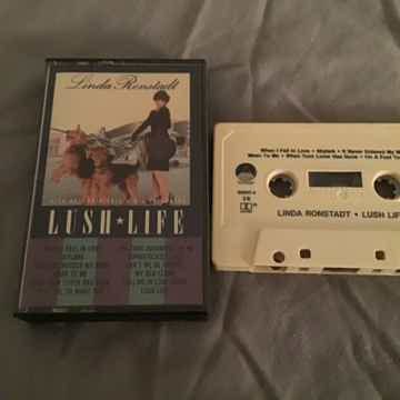 Linda Ronstadt Pre Recorded Cassette  Lush Life