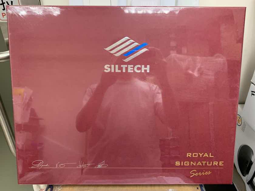 Siltech Cables Emperor II Speaker Cables 2M Brand New!!