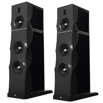 GOLD NOTE XT-7 Loudspeakers (Black Gloss) - Mint DEMO; Full Warranty; 59% Off: Free Shipping