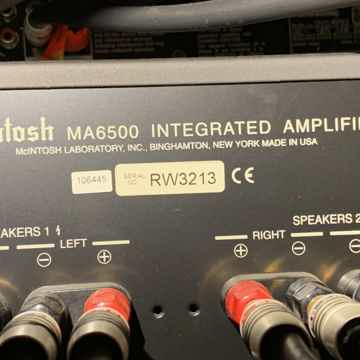 McIntosh System MA6500 AMP, MCD205 CD Player, 4x LS340 Speakers