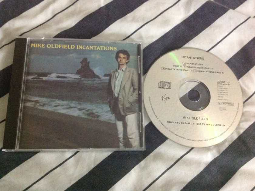 Mike Oldfield - Incantations Full Version Virgin Records Compact Disc   CDVDT 101 Holland