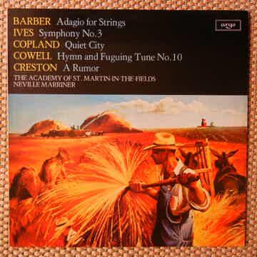 Barber-Ives-Copland-Cowell-Creston - 20th Century Ameri...