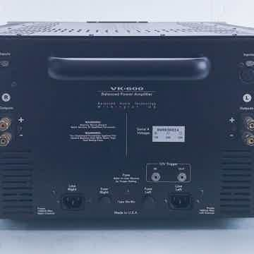 VK-600SE Stereo Power Amplifier; VK600 SE