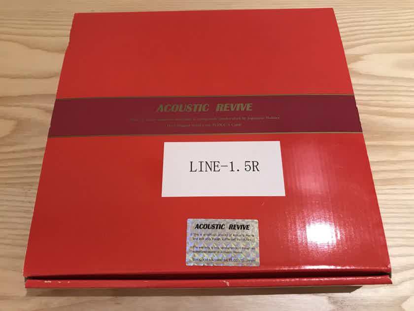 Acoustic Revive LINE 1.5m RCA interconnect