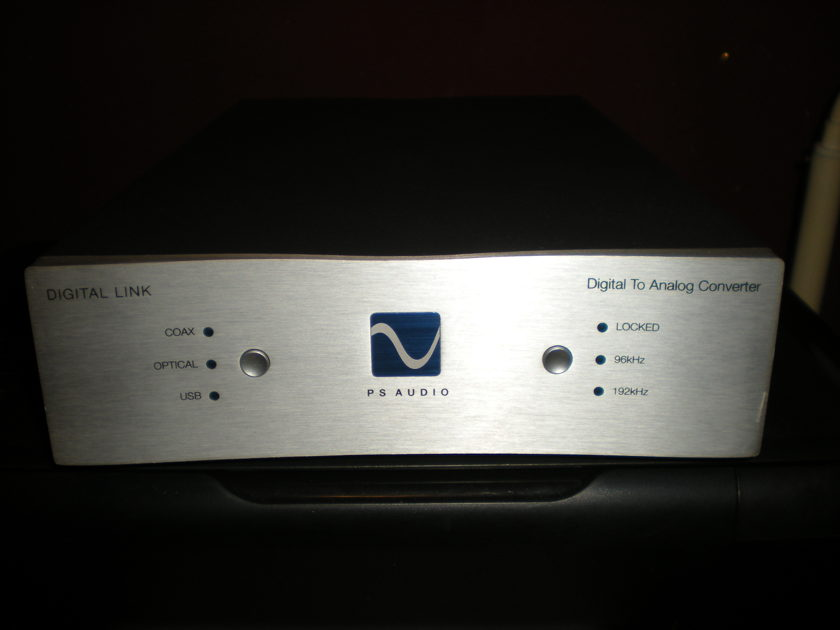 PS Audio Digital Link III D to A Converter