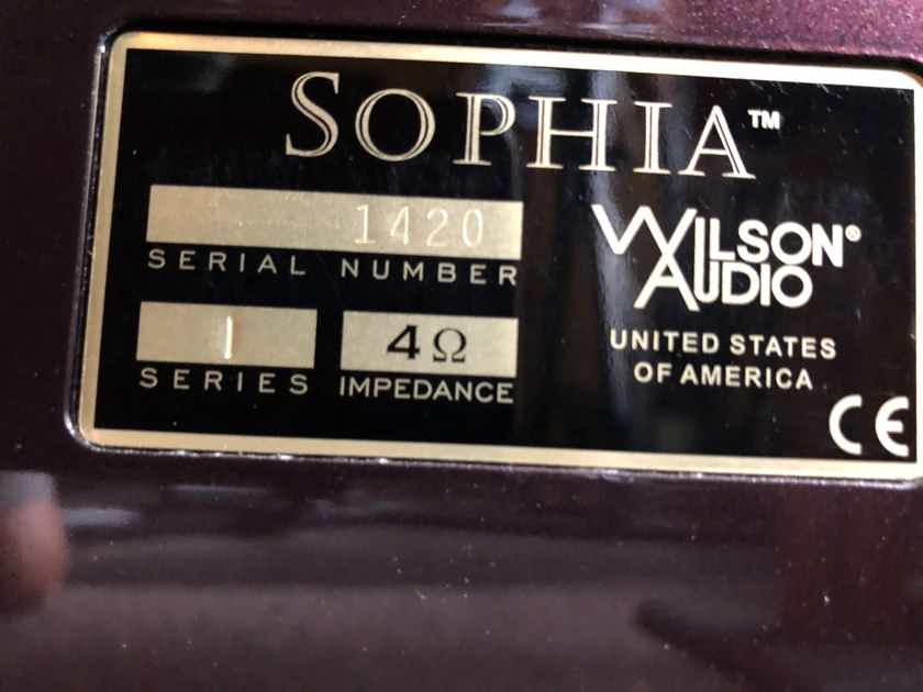 Wilson Audio Sophia