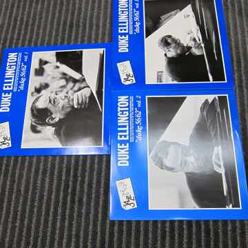 Vol 1,2,3 Duke Ellington CBS Jazz The Que LPS, Ex Sound...