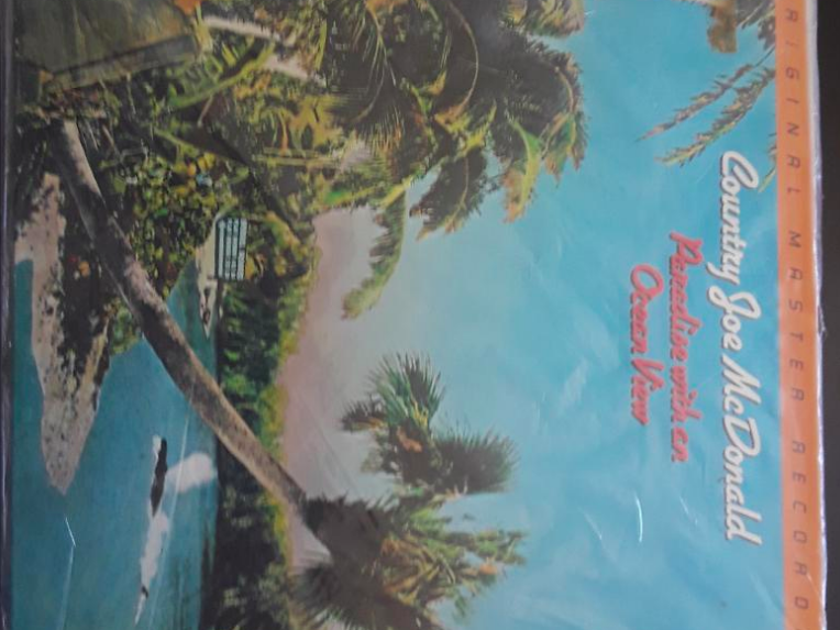 Country Joe McDonald Paradise with an Ocean View - MFSL Original Master Recording - New/Sealed from 1981