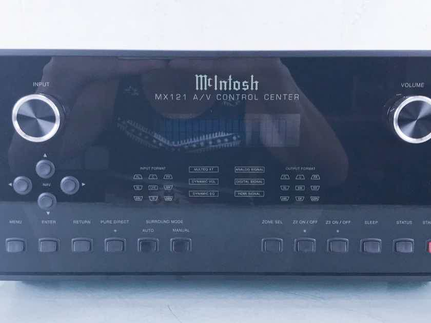 McIntosh MX121 7.1-Channel Home Theater Processor MX-121; Mint (14212)