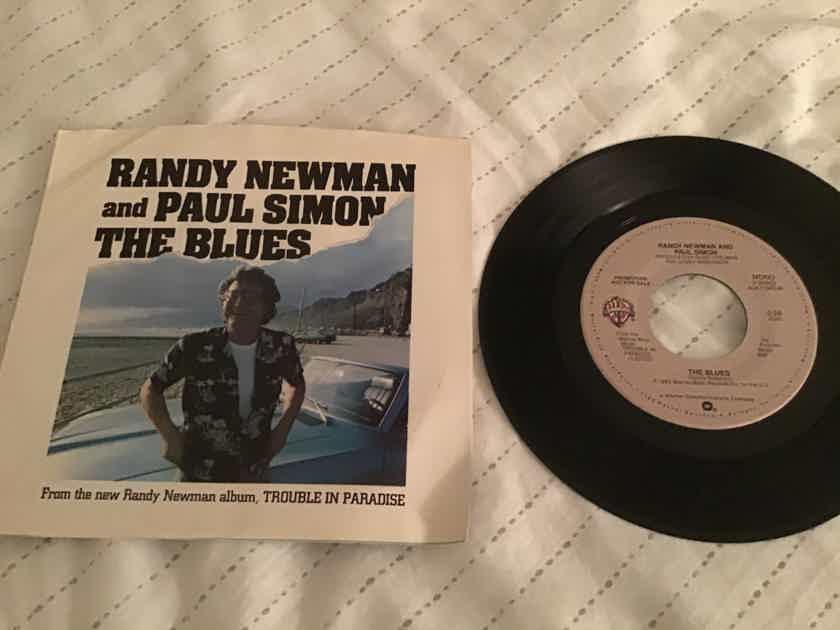 Randy Newman Paul Simon  The Blues Promo Mono/Stereo With Sleeve