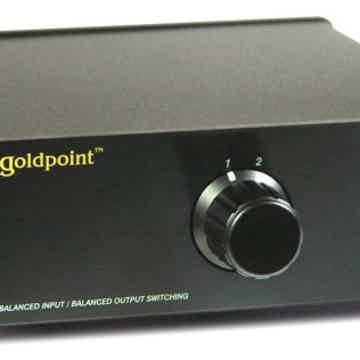 Goldpoint Level Controls SW2X-I Balanced Stereo Input/Output Switching Controls