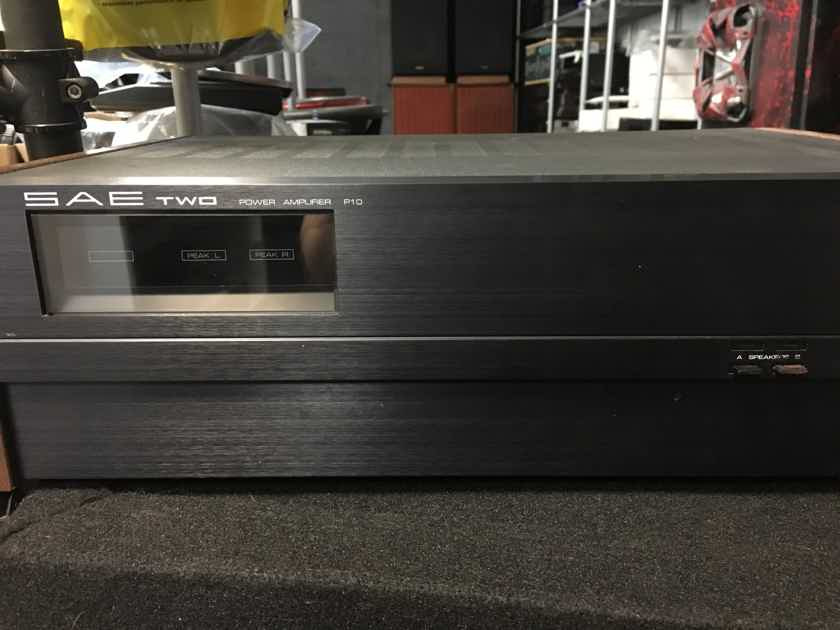 SAE two power amplifier P10