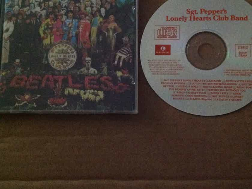 The Beatles - Sgt.Peppers's Lonely Hearts Club Band Parlophone Records West Germany Compact Disc