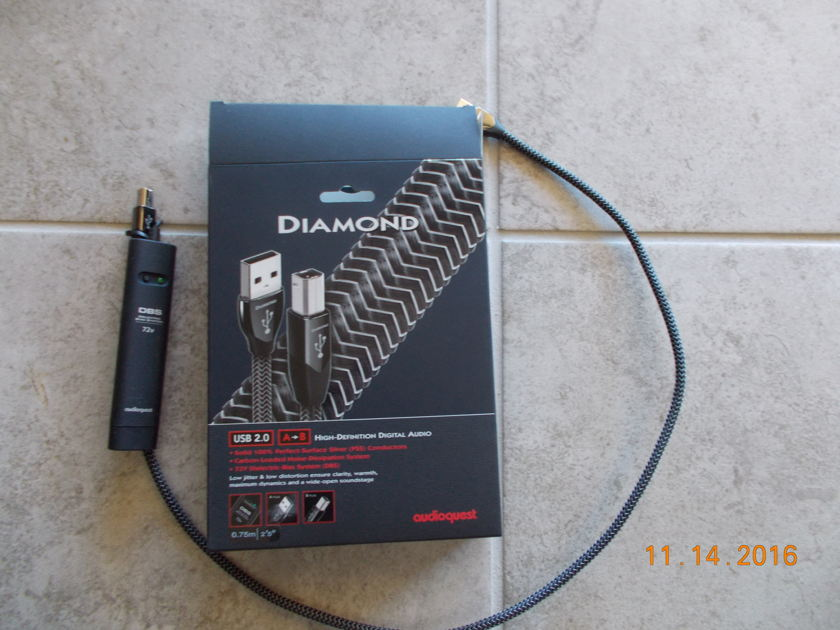 AudioQuest Diamond usb .75m A to B