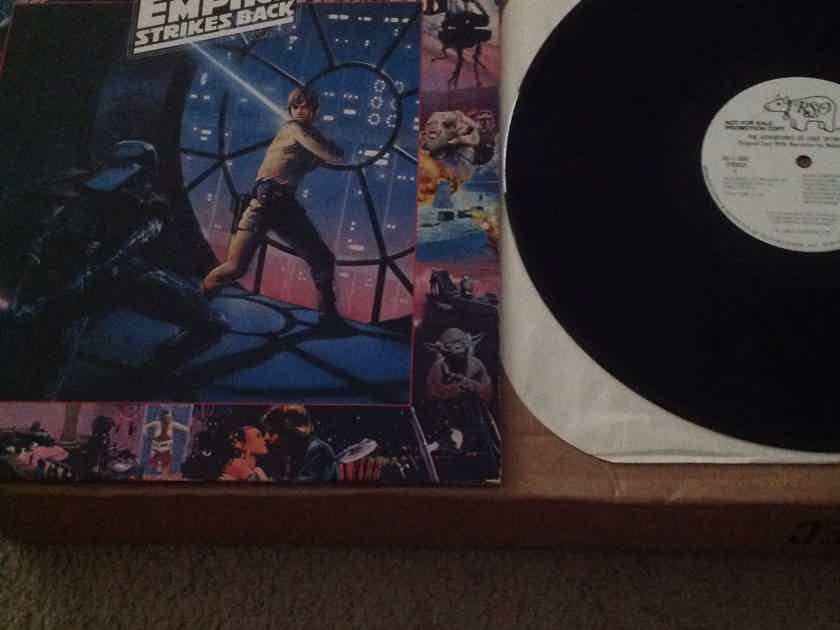 Soundtrack  - The Adventures Of Luke Skywaker The Empire Striks Back RSO Records WLP Vinyl LP  NM