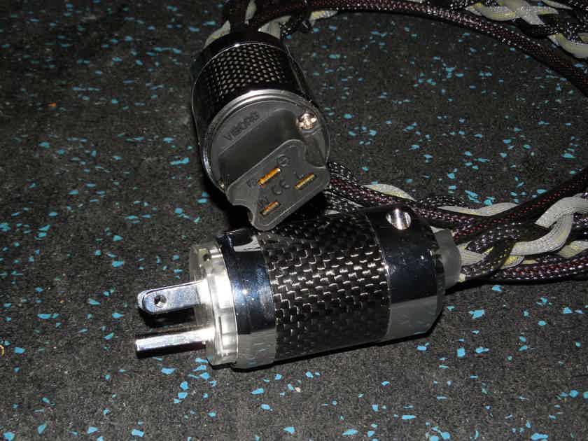 Black Shadow Power Cord