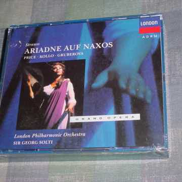 SEALED 2 CD SET 1992 London Decca 430 384-2 Strauss Ariadne Auf Naxos Solti Price Kollo
